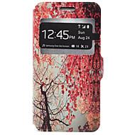 Недорогие Чехлы и кейсы для Galaxy J5-Кейс для Назначение SSamsung Galaxy Кейс для  Samsung Galaxy Бумажник для карт со стендом Чехол дерево Твердый Кожа PU для J7 J5 J3