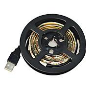 voordelige LED-verlichtingsstrips-Jiawen usb 60-smd3528 koel wit 1m geleid waterdichte strip licht - wit