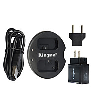 kingma® Dual Charger + Wand USB-Ladegerät für Sony NP-FW50 Akku alpha 7 A7 7s A6000 nex-3n nex-n SLT-A33 Akku