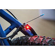 abordables -luces de seguridad LED LED Ciclismo Super Ligero Tamaño Pequeño C-Cell 100 Lumens Batería Ciclismo