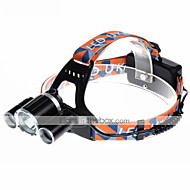 U'King ZQ-X820 Headlamps Headlamp Straps Headlight LED 5000LM lm 4 Mode Cree XM-L T6 Alarm Rechargeable Compact Size Easy Carrying for