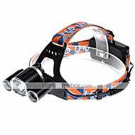 お買い得  フラッシュライト/ランタン/ライト-U'King ZQ-X820 ヘッドランプ ヘッドライト LED 2000 lm 4.0 モード LED アラーム 充電式 小型 コンパクトデザイン キャンプ/ハイキング/ケイビング サイクリング 狩猟 釣り 多機能 登山 屋外