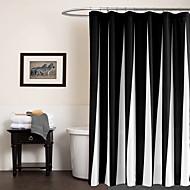 baratos -Contemporânea Poli / algodão 70x72inch  -  Alta qualidade Cortinas de Banheiro