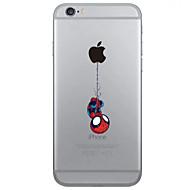 Назначение iPhone X iPhone 8 iPhone 6 iPhone 6 Plus Чехлы панели Прозрачный Задняя крышка Кейс для Композиция с логотипом Apple Мягкий