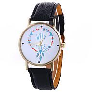 Damskie Do sukni/garnituru Modny Zegarek na nadgarstek Kwarcowy / PU Pasmo ArtystycznyCzarny Biały Niebieski Czerwony Brązowy Zielnony