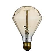 e27 40w g95 diamant straight wire 220v edison lampe, en stor lo lo bar anheng lampe
