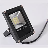 お買い得  -1個 10W LEDフラッドライト 防水 装飾用 温白色 クールホワイト 12-80V ガーデン 中庭 屋外照明