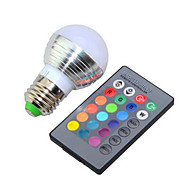 olcso LED okos izzók-e26 / e27 led intelligens izzók g95 1 nagy teljesítményű led 240lm rgb k szabályozható távvezérlésű ac 85-265v