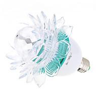 3W E26/E27 Lâmpada Redonda LED A60(A19) 3 LED de Alta Potência 200-250 lm RGB K Decorativa AC 85-265 AC 220-240 AC 100-240 AC 110-130 V
