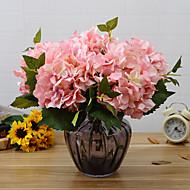 preiswerte Schreibwaren-Künstliche Blumen 1 Ast Europäischer Stil Hortensie Tisch-Blumen