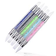 1Pcs Nail Art matrica körömkefék smink Kozmetika Nail Art Design