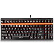 voordelige Toetsenborden-rapoo gaming toetsenbord mechanisch toetsenbord V500 groene as volledig programmeerbare toetsen pro