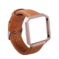 Недорогие Аксессуары для смарт-часов-Ремешок для часов для Fitbit Blaze Fitbit Спортивный ремешок Кожа Повязка на запястье