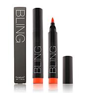 preiswerte -Lippenstifte Nass / Mineral Flüssigkeit Lang anhaltend / Wasserdicht / Natürlich / Schnelles Trocknung Verfügbare Farbe / Aktmalerei 1