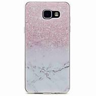 billige -Etui Til Samsung Galaxy A5(2016) A3(2016) Mønster Bakdeksel Marmor Myk TPU til A5(2016) A3(2016)