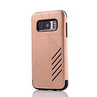 Кейс для Назначение SSamsung Galaxy S8 Plus S8 Защита от удара Задняя крышка Сплошной цвет Твердый PC для S8 S8 Plus S7 edge S7 S6 edge