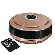 お買い得  -strongshine®960p円筒型ネットワークhd内蔵32gb sdカード360度魚眼レンズP2P Wi-Fi IPカメラ