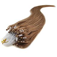 """お買い得  -1個/ロット22"""" アッシュブロンド(#24)百マイクロループ人間の髪の毛の拡張子在庫の多くの色"""
