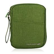 お買い得  トラベル小物-旅行用ウォレット パスポート&IDホルダー 携帯用 防塵 小物収納用バッグ のために 携帯用 防塵 小物収納用バッグ グレー パープル レッド グリーン ダークグレイ