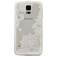 Кейс для Назначение SSamsung Galaxy S7 edge S7 С узором Задняя крышка Цветы Мягкий TPU для S7 edge S7 S6 edge S6 S5