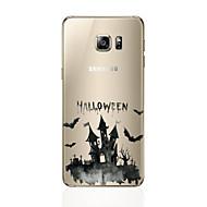 Case Kompatibilitás Samsung Galaxy S7 edge S7 Ultra-vékeny Hátlap Más Puha TPU mert S7 edge S7 S6 edge plus S6 edge S6