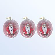 저렴한 홀리데이 & 파티 장식-크리스마스 장식 공 붉은 색 3PCS
