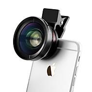37mm 0.45X lente gran angular para iPhone clip de cámara del smartphone iPhone / Android