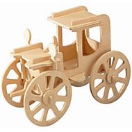 Træpuslespil Legetøjsbiler Modelbyggesæt Legetøj Vintage Car Professionelt niveau Drenge Pige 1 Stk.