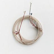 z®zdmは1メートル防水0603 60pcsケーシング4.5ワット温白色(DC12V)ソフトランプストリップを主導