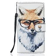Недорогие Чехлы и кейсы для Galaxy S7 Edge-Кейс для Назначение SSamsung Galaxy S7 edge S7 Бумажник для карт Кошелек со стендом Чехол Животное Твердый Кожа PU для S7 edge S7 S6 S5