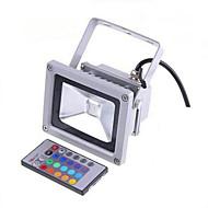 billige LED-projektører-LED-projektører Fjernstyret Dæmpbar Vandtæt Dekorativ Udendørsbelysning RGB AC 85-265V