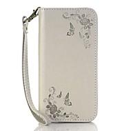 Для Кошелек Бумажник для карт со стендом Рельефный Кейс для Чехол Кейс для Цветы Твердый Искусственная кожа для HuaweiHuawei P9 Huawei P9