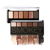 6 Paleta sjenila Suha / Mat / Shimmer / Mineral Sjenilo paleta Powder NormalParty smink / Mesés smink / Macskaszem smink / Füstös smink /