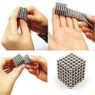 tanie Zabawki & hobby-216pcs 3mm srebrny diy kulki magnetyczne sferze kulki magiczne kostki magnes puzle budowy klock edukacji zabawki