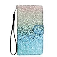 Недорогие Чехлы и кейсы для Galaxy S-Кейс для Назначение SSamsung Galaxy S7 edge / S7 Кошелек / Бумажник для карт / со стендом Чехол Градиент цвета Твердый Кожа PU для S7 edge / S7 / S6 edge