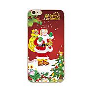 Hülle Für Apple iPhone X iPhone 8 Plus iPhone 7 iPhone 6 iPhone 5 Hülle Muster Rückseitenabdeckung Weihnachten Weich TPU für iPhone X