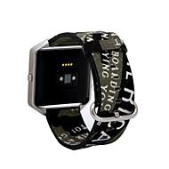 Недорогие Аксессуары для смарт-часов-Ремешок для часов для Fitbit Blaze Fitbit Спортивный ремешок Материал Повязка на запястье