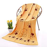 abordables Textiles para el Hogar-Calidad superior Toalla de Baño, Impresiones Reactivas 100% Microfibra Baño