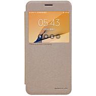olcso Samsung tokok-Case Kompatibilitás J7 Prime J5 Prime J2 Prime Samsung Galaxy J7 Prime J5 Prime Betekintő ablakkal Flip Jeges Teljes védelem Tömör szín