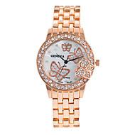 voordelige Bohémien horloges-Dames Dress horloge Modieus horloge Polshorloge Armbandhorloge Kwarts Punk Kleurrijk Grote wijzerplaat Legering BandVintage Glitter