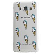 Для samsung galaxy j5 j3 (2016) кейс покрытие рисунок для мороженого высокая проницаемость покраска tpu материал телефон чехол