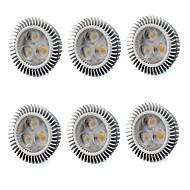 お買い得  LED スポットライト-480 lm GU5.3(MR16) LEDスポットライト MR16 3 LEDの ハイパワーLED 温白色 クールホワイト AC 220-240V