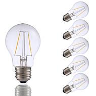 voordelige LED-gloeilampen-GMY® 6pcs 200 lm E26 LED-gloeilampen A17 2 leds COB Dimbaar Warm wit AC 110-130V
