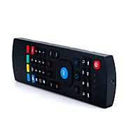 levne -LITBest MX3 Bezdrátová / Bezdrátový 2.4GHz Klávesnice Air Mouse Minii Ticho 81 pcs Klíče