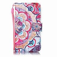 preiswerte iPod-Hüllen / Cover-Hülle Für iTouch 5/6 Muster Ganzkörper-Gehäuse PU-Leder Hart