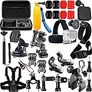 cheap Sports Cameras & Accessories For GoPro-Accessory Kit For Gopro Adjustable Anti-Shock Waterproof For Action Camera Gopro 5 Xiaomi Camera Gopro 4 Gopro 3 Gopro 2 Gopro 1 Sports
