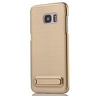 Кейс для Назначение SSamsung Galaxy S7 edge S7 Бумажник для карт Вода / Грязь / Надежная защита от повреждений Задняя крышка броня Твердый