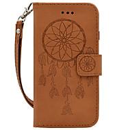 Для samsung galaxy a310 a510 ручной канат стиль мечта ловец тиснение pu карта держатель кошелек телефон обложка
