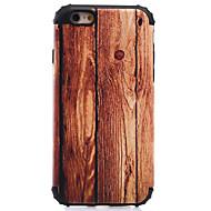 Недорогие Кейсы для iPhone 8-Кейс для Назначение Apple iPhone 8 / iPhone 8 Plus / iPhone 7 Защита от удара / С узором Кейс на заднюю панель Имитация дерева Твердый ПК для iPhone 8 Pluss / iPhone 8 / iPhone 7 Plus