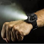 Недорогие Мужские часы-Муж. Уникальный творческий часы Наручные часы Смарт Часы Часы-браслет Спортивные часы Цифровой Календарь Секундомер LED Панк легче